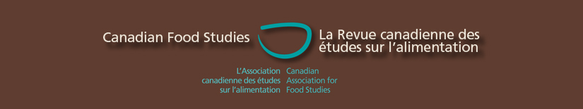 Canadian Food Studies header image